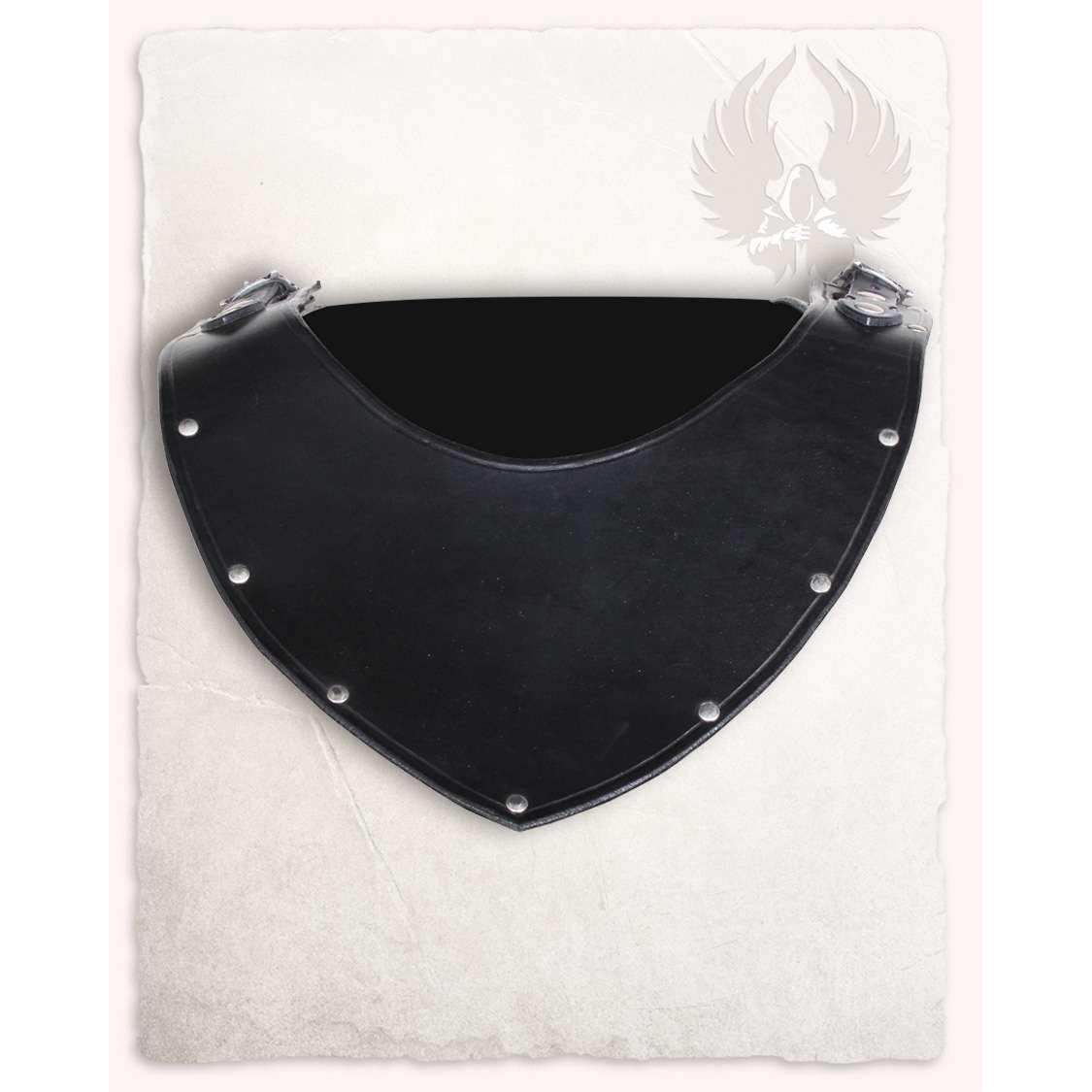 Marius leather gorget