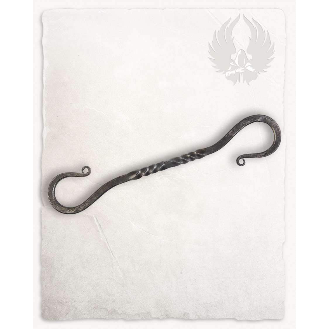 Gudrun iron hook large twisted