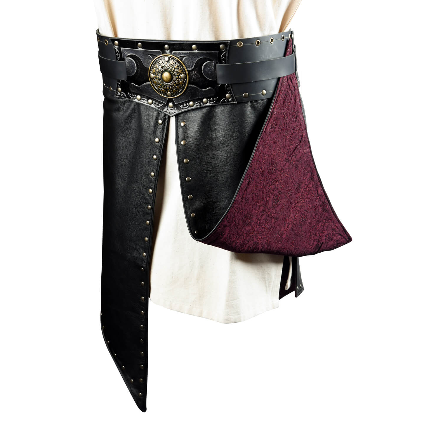 Assassin Large Belt with Skirt