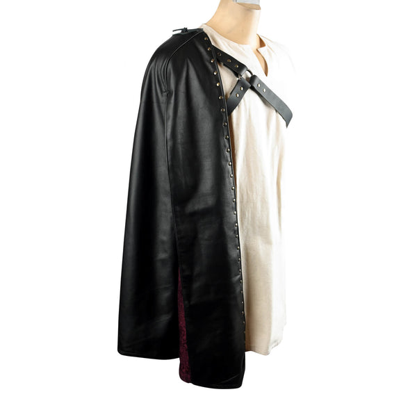 Assassin Leather Half-Cape