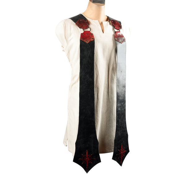 Chaos Leather Stole