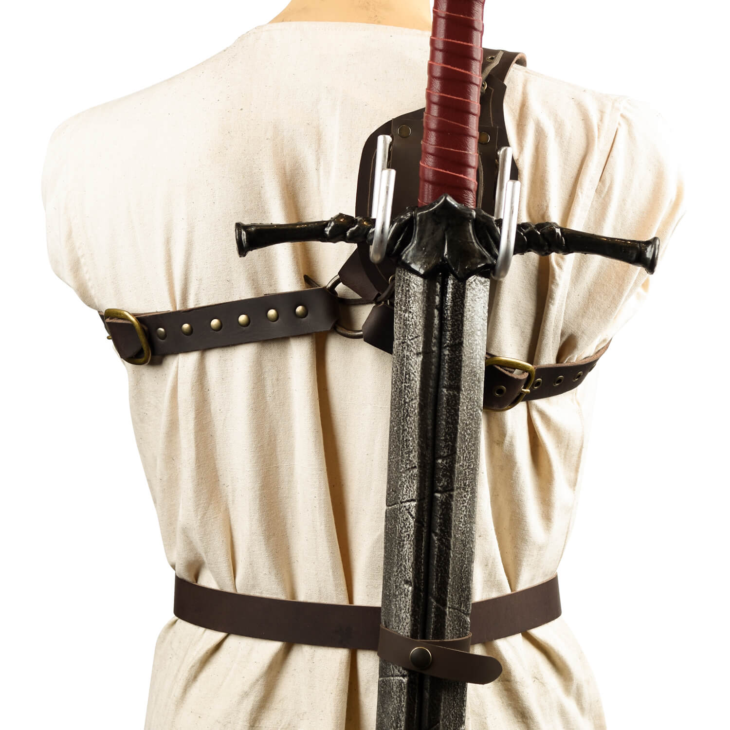 Back Scabbard with Hooks