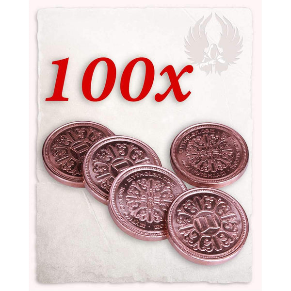 Larp coin copper set of 100