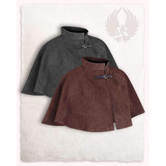 Colin suede cape