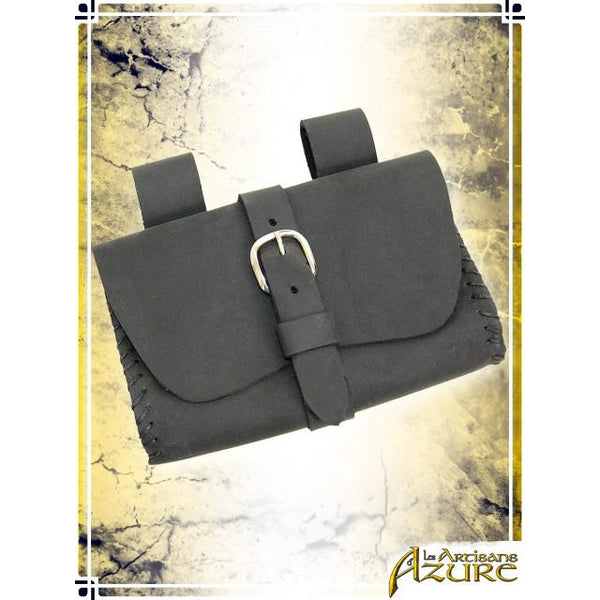 Square Pouch - Black
