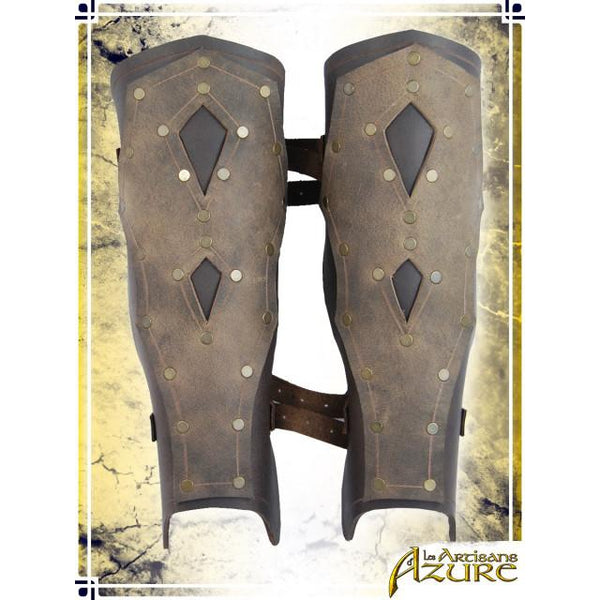 Mercenary's Greaves – Brown/Tan