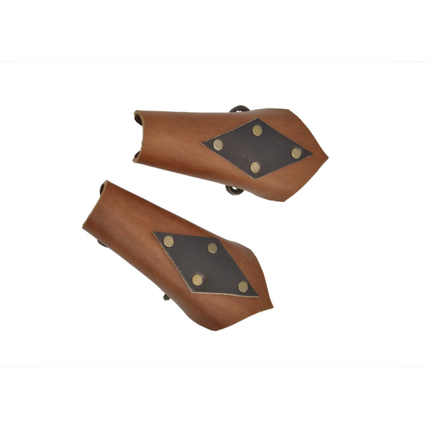 Kid Bracers - Azure (brown)