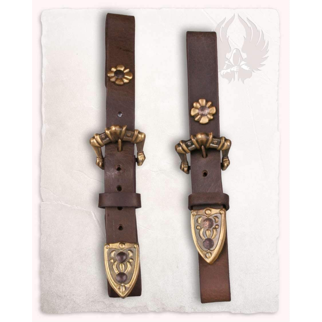 Leon scabbard mount diagonal brown