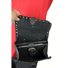 Medium Riveted Pouch