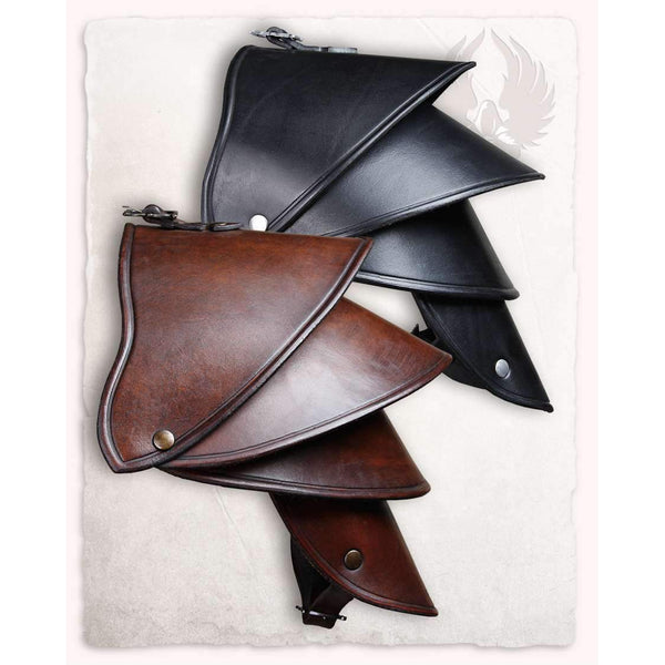Crisso leather spaulder