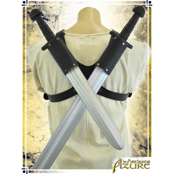Double Scabbard Dorsal - Black