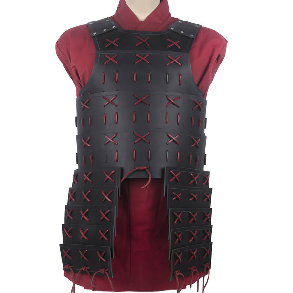 Samurai Armor - Cuirass - Black/Red