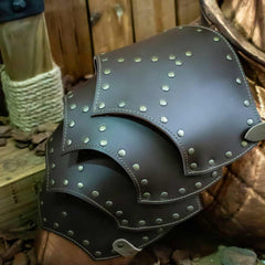Reinforced Leather Shoulders