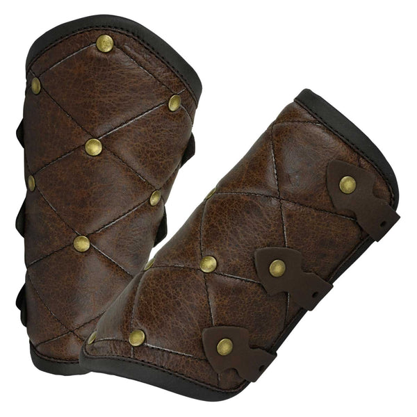 Studded Gambeson Bracers