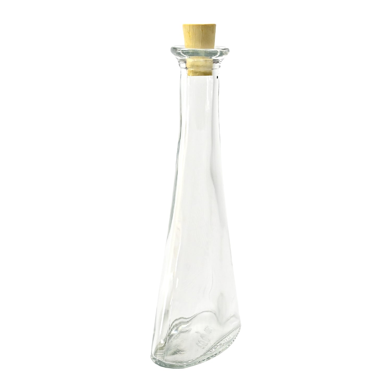 Bottle 6 Oval with Cork, 100ml