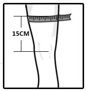 knee brace size selection