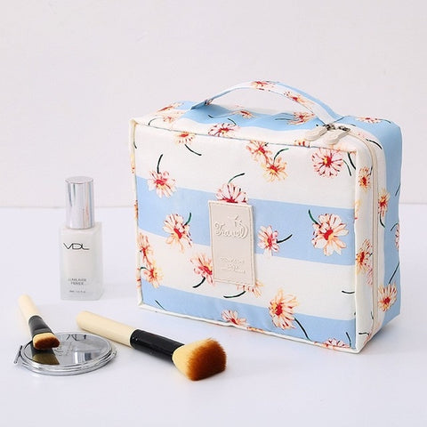 Image of Makeup Bag & Cosmetic Travel Organizer