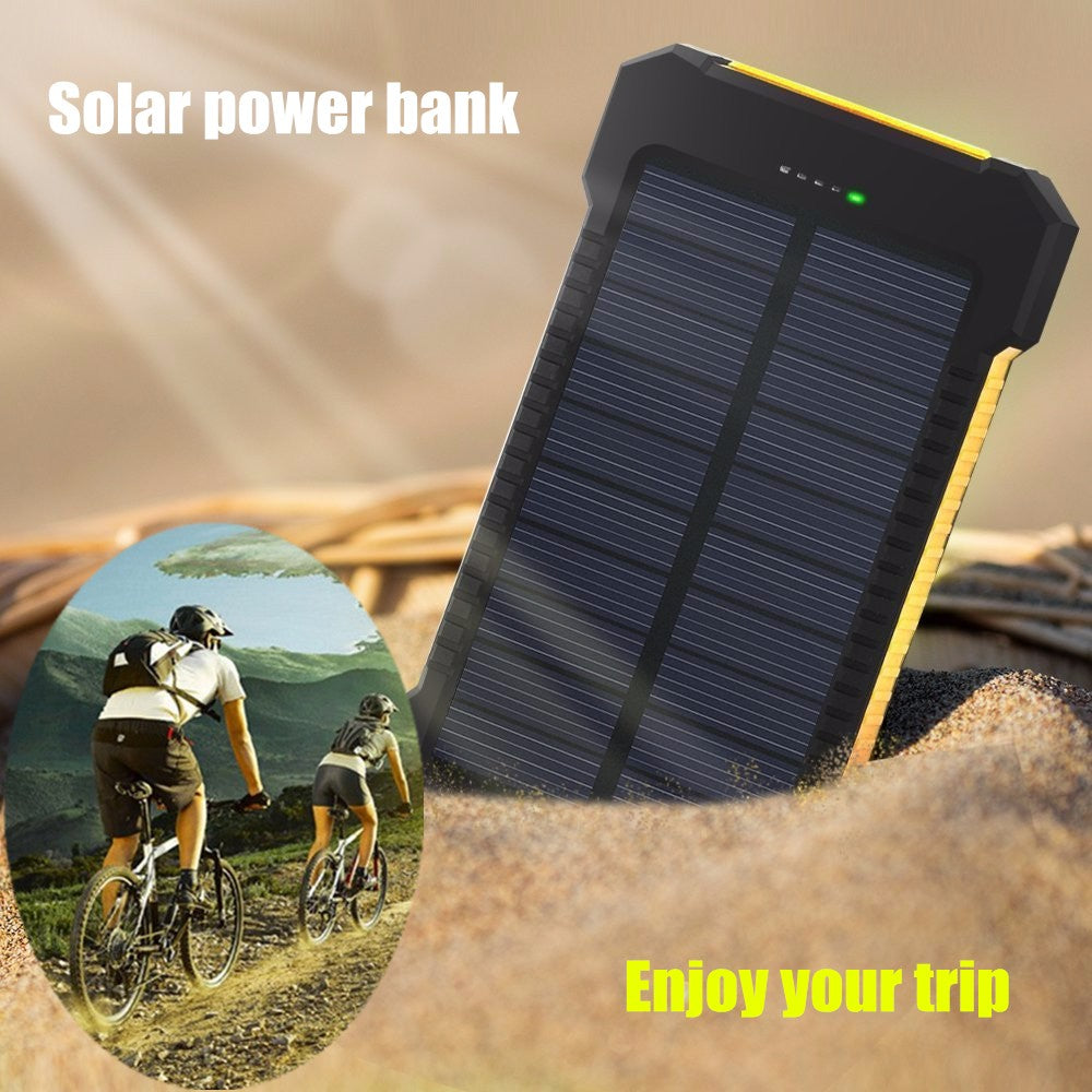 Solar Power Bank & Portable Charger