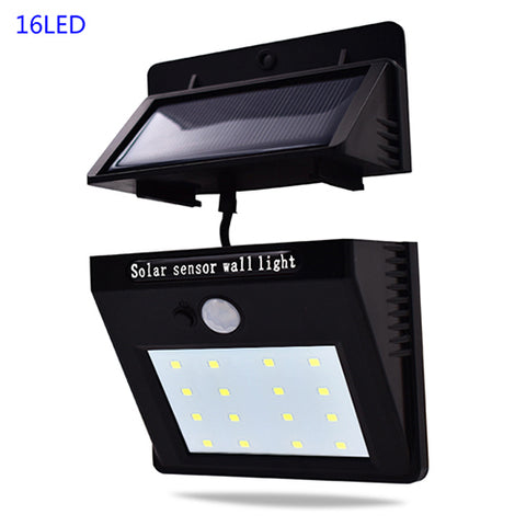 20/16 LEDs Solar Outdoor Light