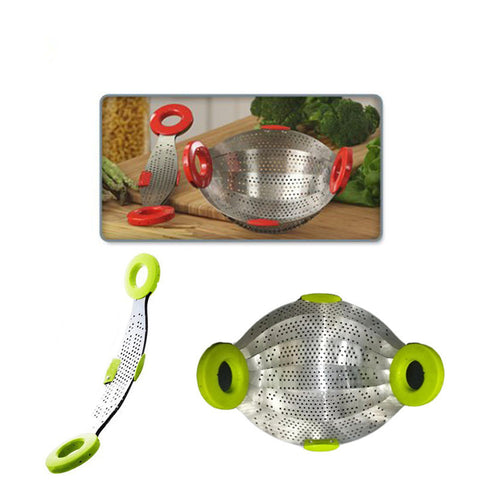 Collapsible Smart Strainer