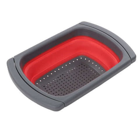 Image of Collapsible Extendable Silicone Strainer