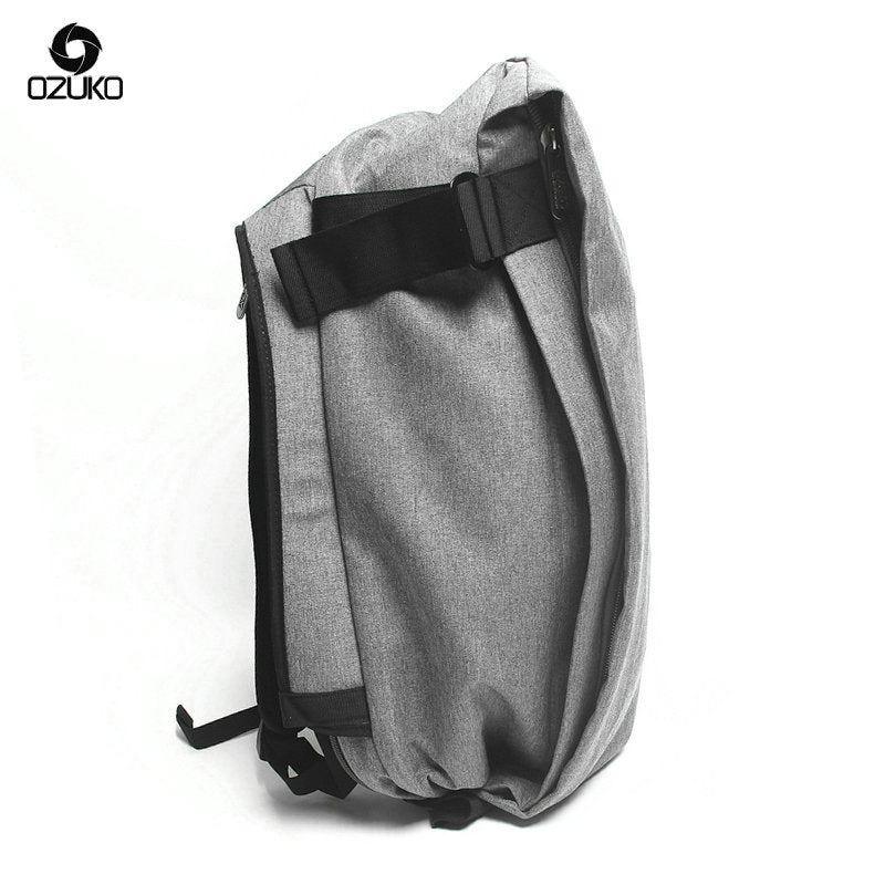 USB Designer Backpack Men