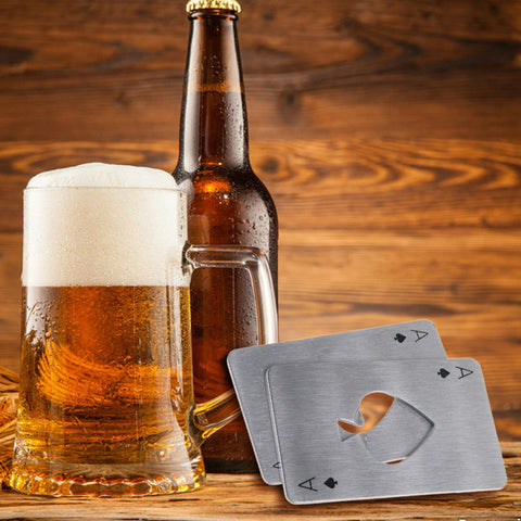 Image of Poker Card Bottle Opener