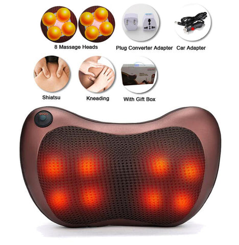 Image of Electric Infrared Shiatsu Massager