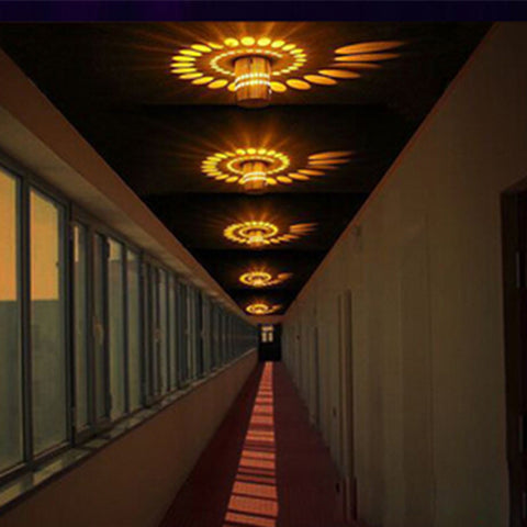 Image of Spiral Wall Lamp