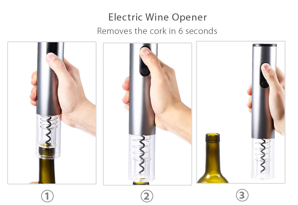 Electric Cordless Wine Bottle Opener