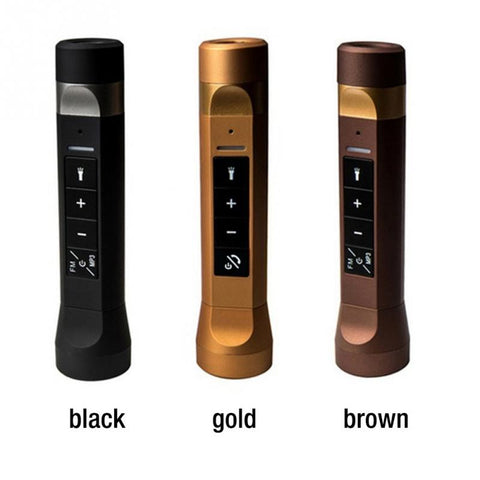 4 in 1 Torch with MP3 FM and 2200mAh Power Bank