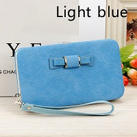 High Capacity Women PU Leather Wallet