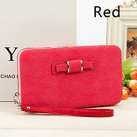 Image of High Capacity Women PU Leather Wallet