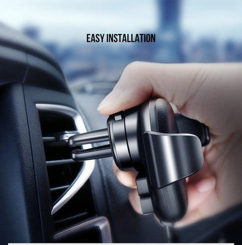 Image of Fast Qi Wireless Car Phone Charger & Holder