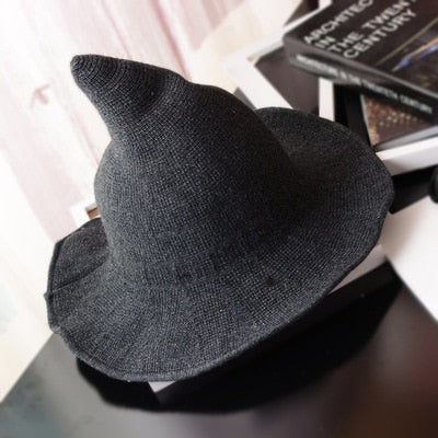 Modern Woolen Witch Hat