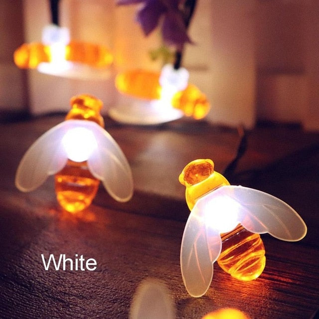 Bee String Fairy lights