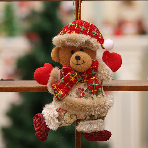 Image of Tree Doll Christmas Decorations