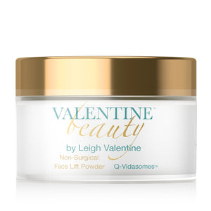 Leigh Valentine Non Surgical Face Lift Powder Featuring Q-Vidasomes - Gold Series