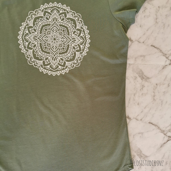 Be Your Beautiful Self Mandala - Tee