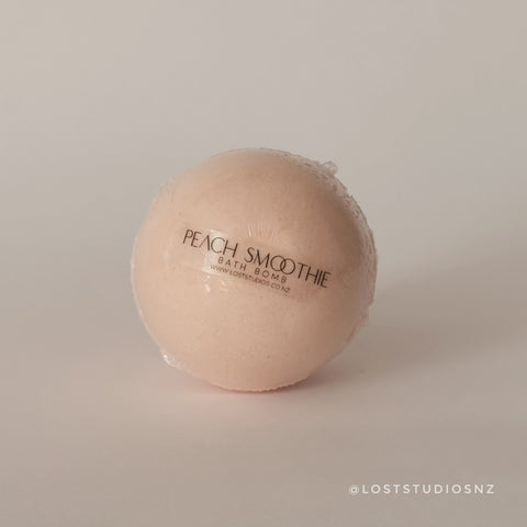 Peach Smoothie Bath Bomb