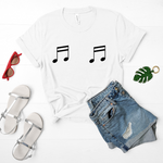 Music Note Boob T-Shirt