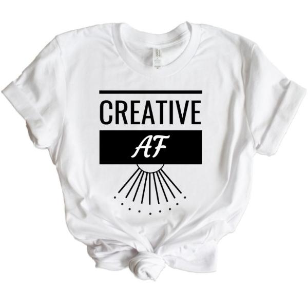 Creative AF- Short-Sleeve Unisex T-Shirt
