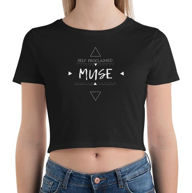 Self Proclaimed Muse Crop Tee