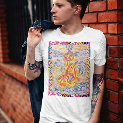 T shirt mockup featuring a stylish man leaning on a brick wall 2199 el1 clipped rev 1