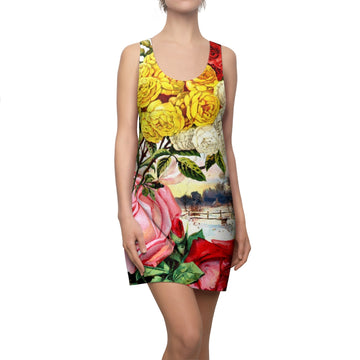 Parade of Roses Racerback Dress