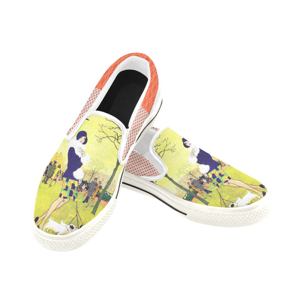 Central Park West Slip-ons (Unisex), Shoes- WhimzyTees