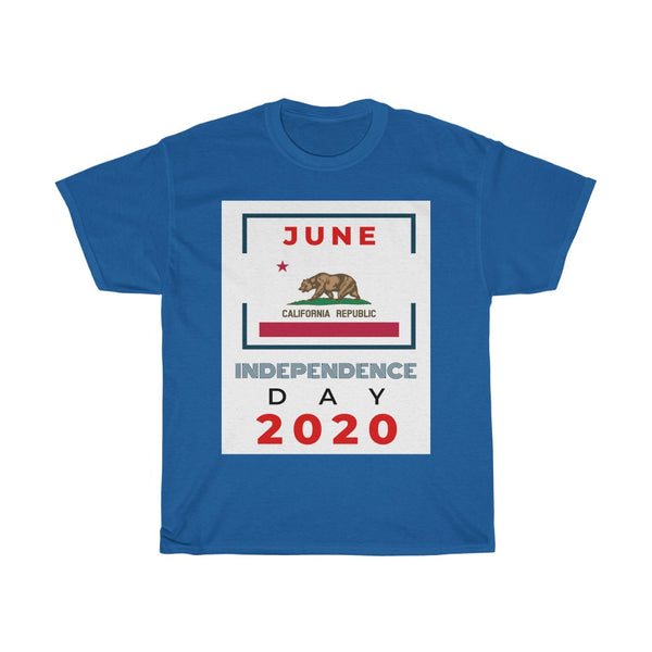 Independence Day - June 2020 California Tee - WhimzyTees