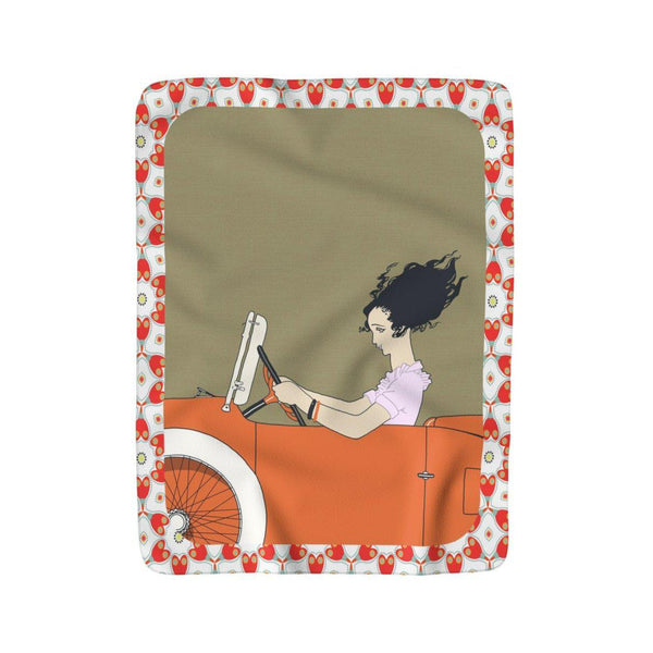 The Great Escape Sherpa Blankie, Blanket- WhimzyTees