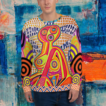 Limited Edition | Art | Mr Hydde - Prayer in the Dark SYLKKE Sweatshirt