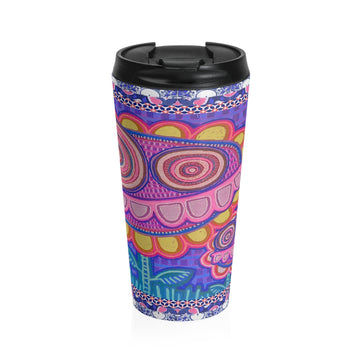 Limite Limited Edition | Art |Mr Hydde - Okinawa FLOWRZ Stainless Steel Travel Mug